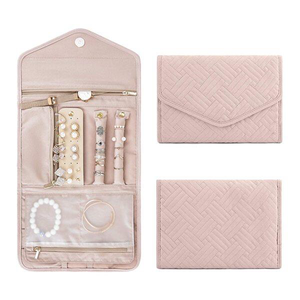 Travel Jewelry Organizer Roll