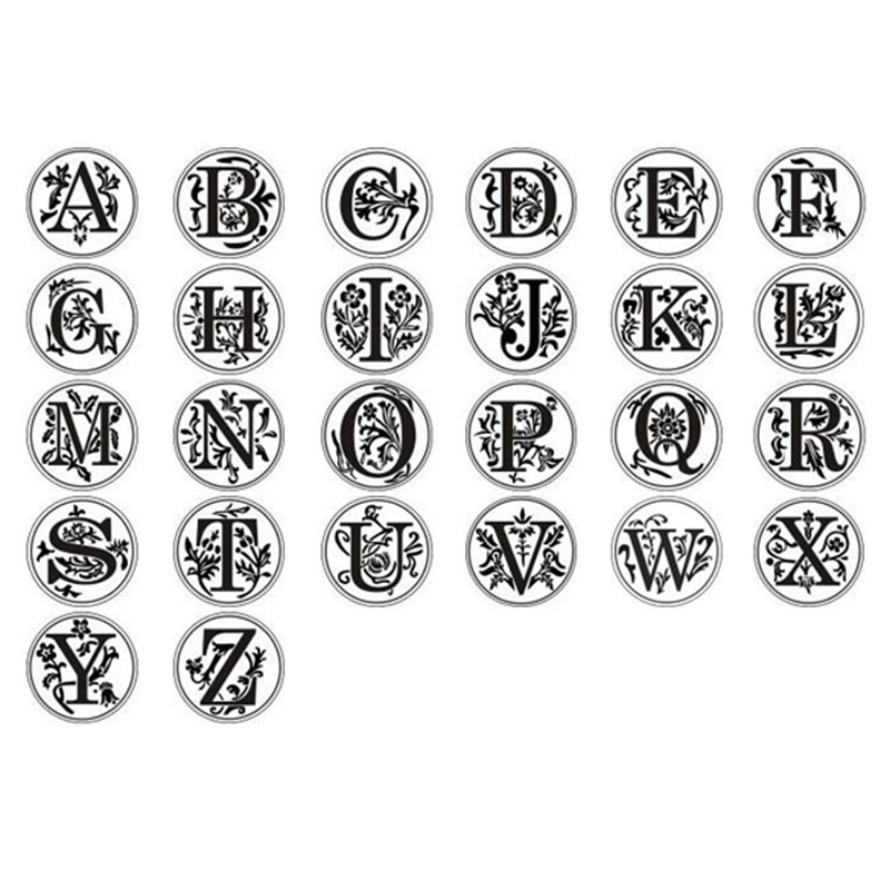 ST009 letters stamp