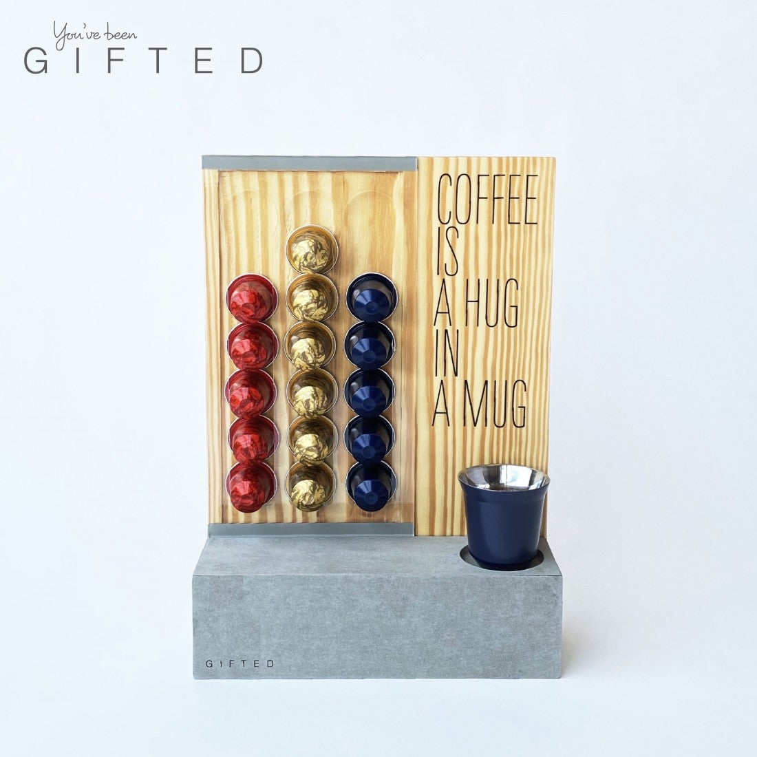Gifted Coffee Capsules Stand