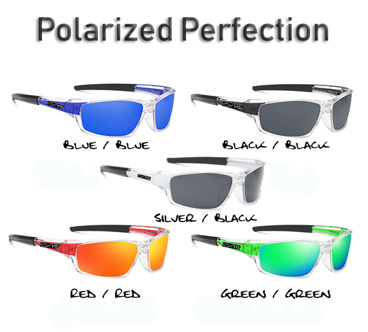 Polarized HD Perfection Sunglasses - 5 Styles