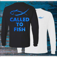 Load image into Gallery viewer, Called to Fish Long Sleeve HEAVY Ultra Cotton T-Shirt - 2 Colors - T-Shirts