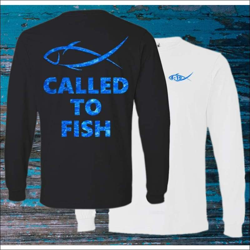 Called to Fish Long Sleeve HEAVY Ultra Cotton T-Shirt - 2 Colors - T-Shirts