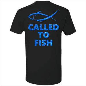 Called to Fish Premium Short Sleeve T-Shirt - 8 Colors - Black/Blue / S - T-Shirts