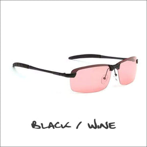 Crowley Clay Crusher Polarized Sunglasses - 5 Styles - Black/Wine - Sunglasses