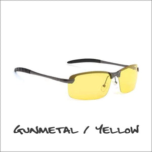 Crowley Clay Crusher Polarized Sunglasses - 5 Styles - Gun/Yellow - Sunglasses