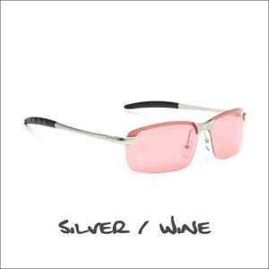 Crowley Clay Crusher Polarized Sunglasses - 5 Styles - Silver/Wine - Sunglasses