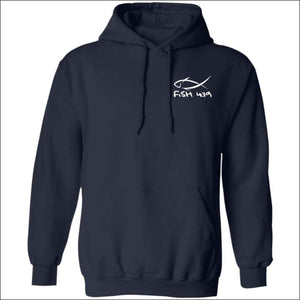 Fish 419 Classic Design Hoodie - 3 Colors - Navy / S - Sweatshirts