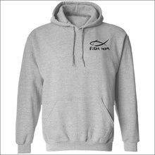 Load image into Gallery viewer, Fish 419 Classic Design Hoodie - 3 Colors - Sport Grey / S - Sweatshirts