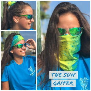 Fish 419 Fishing Sun Gaiter - 6 Designs - Gaiter