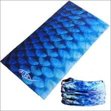 Load image into Gallery viewer, Fish 419 Fishing Sun Gaiter - 9 Designs - Tarpon Blue - Gaiter