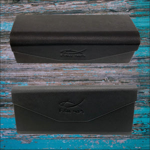 Fish 419 Folding Sunglasses Case - Sunglasses