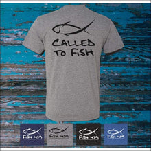 Load image into Gallery viewer, Fish 419 Mens Vintage Called to Fish T-Shirt - 4 Colors - T-Shirts
