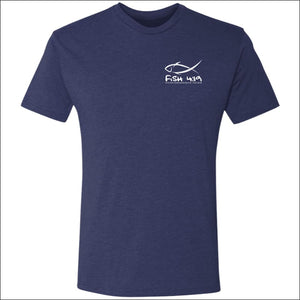 Fish 419 Mens Vintage Called to Fish T-Shirt - 4 Colors - Vintage Navy / S - T-Shirts