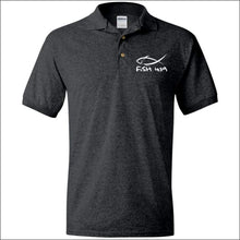 Load image into Gallery viewer, Fish 419 Performance Polo - Dark Heather / S - Polo Shirts
