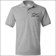 Load image into Gallery viewer, Fish 419 Performance Polo - Sport Grey / S - Polo Shirts
