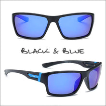 Load image into Gallery viewer, Oculus HD Polarized Sunglasses - 4 Styles - Black/Blue - Sunglasses