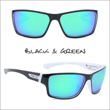 Load image into Gallery viewer, Oculus HD Polarized Sunglasses - 4 Styles - Black/Green - Sunglasses