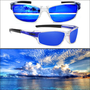 PHDP Lens Replacement - NC - Blue - Sunglasses
