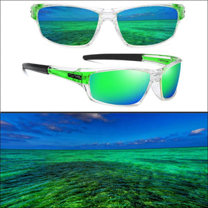 PHDP Lens Replacement - NC - Green - Sunglasses