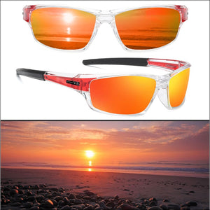 PHDP Lens Replacement - NC - Red - Sunglasses