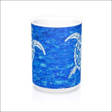 Load image into Gallery viewer, Polynesian Sea Turtle Mug 15 oz - 4 Colors Available - Drinkware