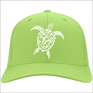 Sea Turtle Ladies Cap - 4 Colors - Lime / One Size - Hats