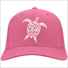 Load image into Gallery viewer, Sea Turtle Ladies Cap - 4 Colors - Neon Pink / One Size - Hats