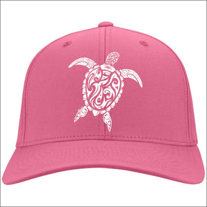 Sea Turtle Ladies Cap - 4 Colors - Neon Pink / One Size - Hats