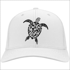 Sea Turtle Ladies Cap - 4 Colors - White / One Size - Hats