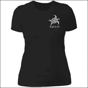 Sea Turtle Ladies Premium Boyfriend T-Shirt - 6 Colors - Black / X-Small - T-Shirts