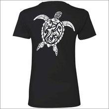 Load image into Gallery viewer, Sea Turtle Ladies Premium Boyfriend T-Shirt - 6 Colors - T-Shirts