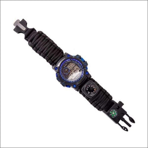 Survival Multi Function Watch - 2 Colors - Black Band - Watch