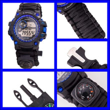 Load image into Gallery viewer, Survival Multi Function Watch - 2 Colors - Watch