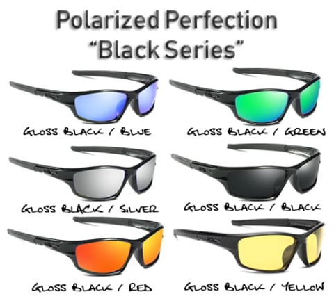 Polarized HD Perfection Sport Sunglasses - 5 Styles