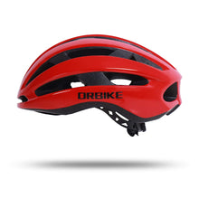 (Rich Red) Adjustable Lightweight Bike Helmet
