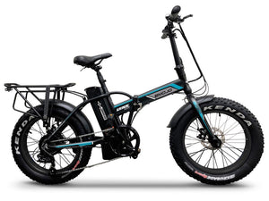 Folding Electric Bike EMOJO LYNX Pro 750 Watt 48 V- Fat Tire Bike