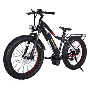 Fat Tire Ebike Addmotor Motan M-5800 1000W With Middle Motor - Black Wheel - Electric Bike $2899.00