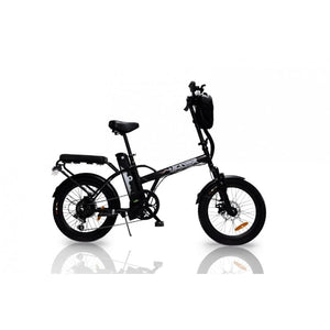 Affordable Cruiser Electric Bike GreenBike JAGER DUNE 350W 36V - Matte Black - electric bike