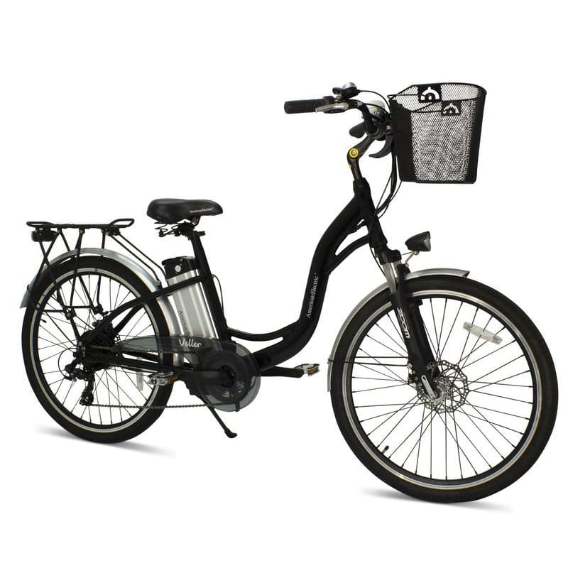 AmericanElectric Electric Bike VELLER 2021 Ste-Thru 350W - Black - electric bike