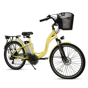 AmericanElectric Electric Bike VELLER 2021 Ste-Thru 350W - Ivory - electric bike
