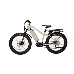 BAKCOU Mule Elite Electric Hunting Bike (750W / 1000W) - 750W (17 Frame) / Desert Tan / 14.5 Ah (Included) - electric bike