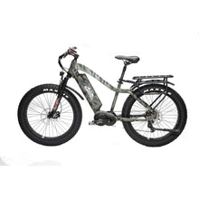 BAKCOU Mule Elite Electric Hunting Bike (750W / 1000W) - 750W (17 Frame) / Kuiu Verde Camo / 14.5 Ah (Included) - electric bike