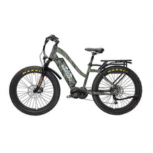 BAKCOU Mule ST Step Through Electric Hunting Bike - electric bike