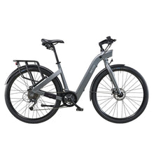 BESV CF1 700c Cruiser Electric Bicycle Step Through 250W - Grey - electric bike
