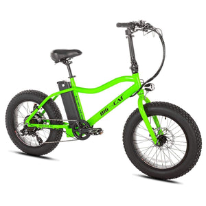 Mini Electric Bike Big Cat Mini Cat Xl 500W - Fat Tire Bike - Green - Electric Bike $1995.00