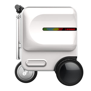 Best Scooter Suitcase - Silver Rydebot Cavallo - Big Storage Scooter Luggage