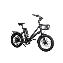 Cruiser Electric Bike Civi Bikes RUNABOUT 48V 500 Watt - Obsidian Black - electric bike