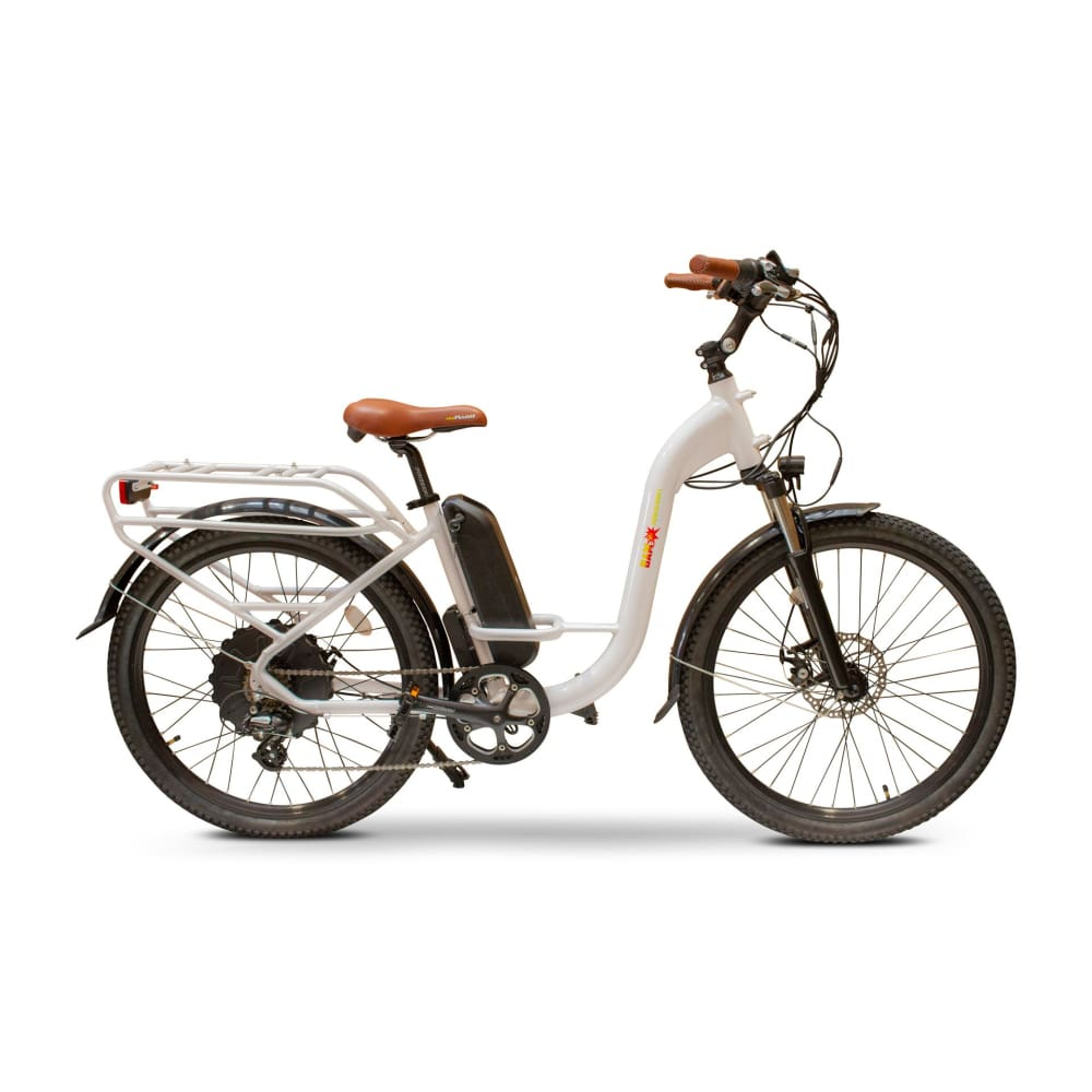 E Wheels BAM EW-Step Thru Powerful Cruiser Electric Bike - electric bike