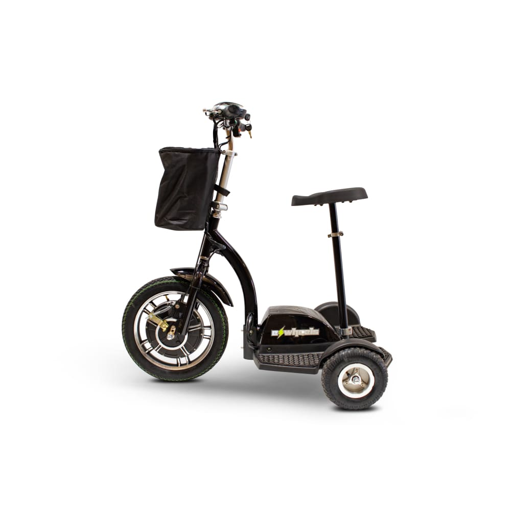 E Wheels EW-18 Compact Mobility Scooter - Stand-N-Ride - mobility scooter