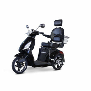 E Wheels EW-36 Elite Powerful Three-Wheel Mobility Scooter - Black - mobility scooter